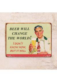 Пиво изменит мир