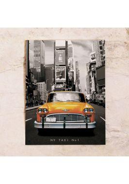 Жестяная табличка Taxi