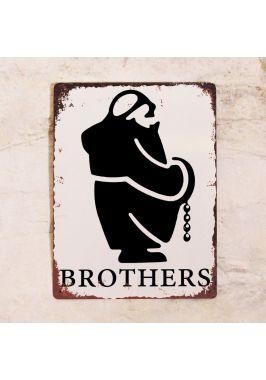 Табличка из набора Братья и сестры