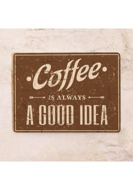 Табличка для кондитерской A good Idea