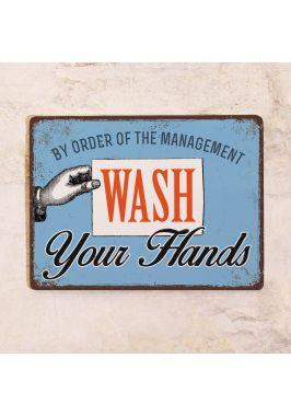 Табличка для дома Мойте руки