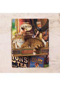 Кот и таблички