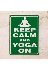Yoga on