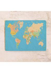 Магнитная доска Карта мира