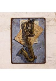 Винтажный саксофон