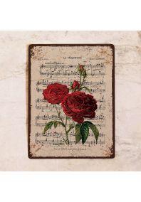 Ноты и розы