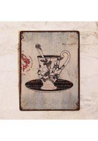 Винтажная кофейная чашка