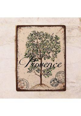 Декоративная табличка Прованс олива