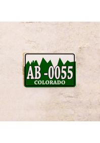 Автомобильный номер Колорадо