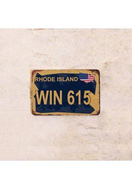 Автомобильный номер Rhode island