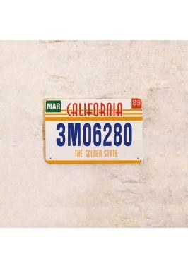 Американский номер на машину Калифорния
