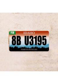 Автомобильный номер Айдахо