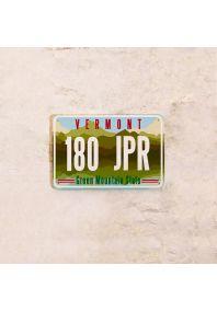 Автомобильный номер Вермонт