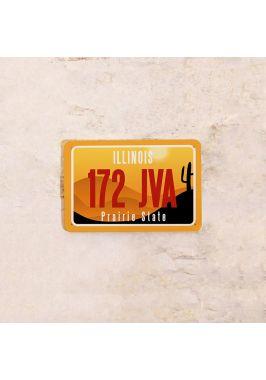 Американский номер на машину Иллинойс