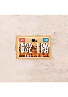 Американский номер на машину Айова