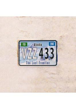 Американский номер на машину Аляска