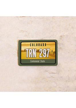 Американский номер на машину Колорадо
