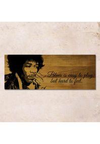 Hendrix 80x30см