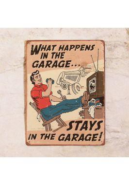 Что случается в гараже