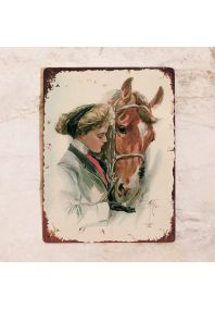 Леди и лошадь