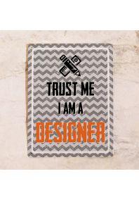 Декоративная табличка Designer