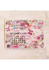 Календарь на 2016 г.  Цветы и птицы