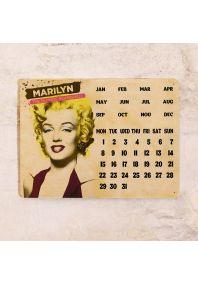Календарь с магнитным курсором  Retro Marilyn Monroe