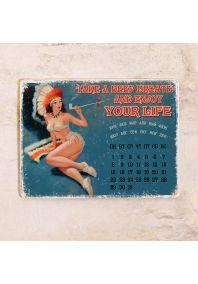 Бесконечный календарь Enjoy your life