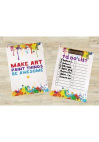 Планшет для бумаг Make art - Be awesome