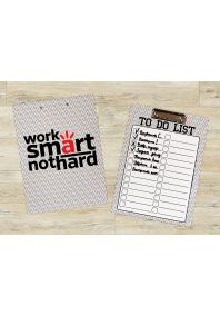 Планшет для бумаг Work SMART