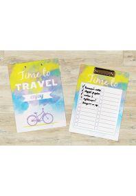 Планшет для бумаг Время путешествовать!