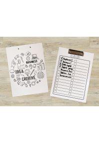 Планшет для бумаг Бизнес-идеи