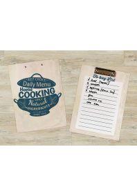 Планшет для бумаг Домашняя кухня