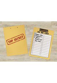 Планшет для бумаг TOP SECRET