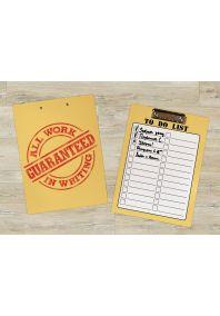 Планшет для бумаг Гарантия