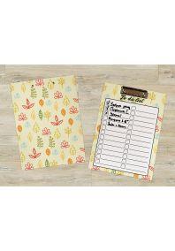 Планшет для бумаг Осенние листочки