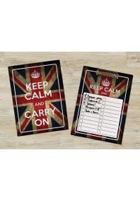 Планшет для бумаг Keep Calm British Flag