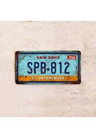 Автомобильный номер SPB