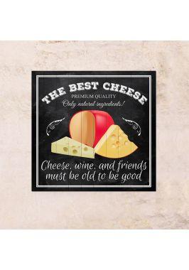 Панно на дереве Лучший сыр