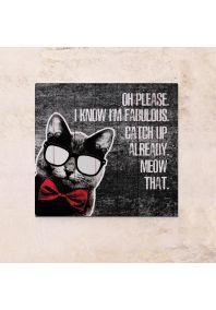 Fabulous Cat 63х63см