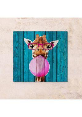 Панно на дереве Жираф
