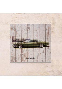 Панно на дереве Impala
