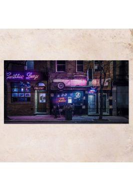 Панно на дереве Cadillac Lounge
