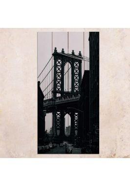 Панно на дереве George Washington Bridge