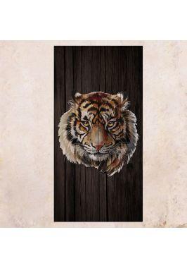 Панно на дереве Tiger