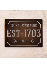 Saint Petersburg Est 1703