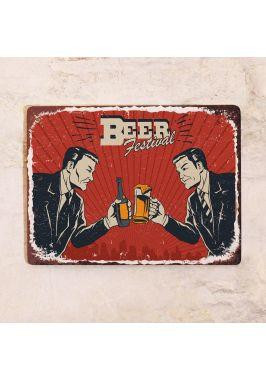 Табличка Beer Fest