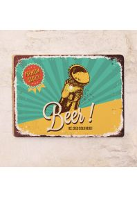 Ice Cold Beer Poster