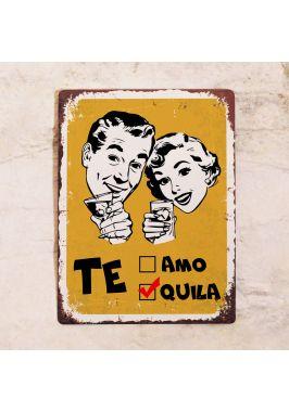 Табличка Te-quila