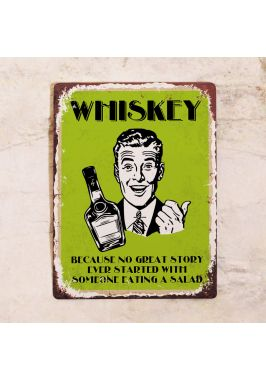 Табличка Whiskey